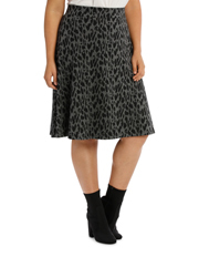 Estelle - Leopard Skirt