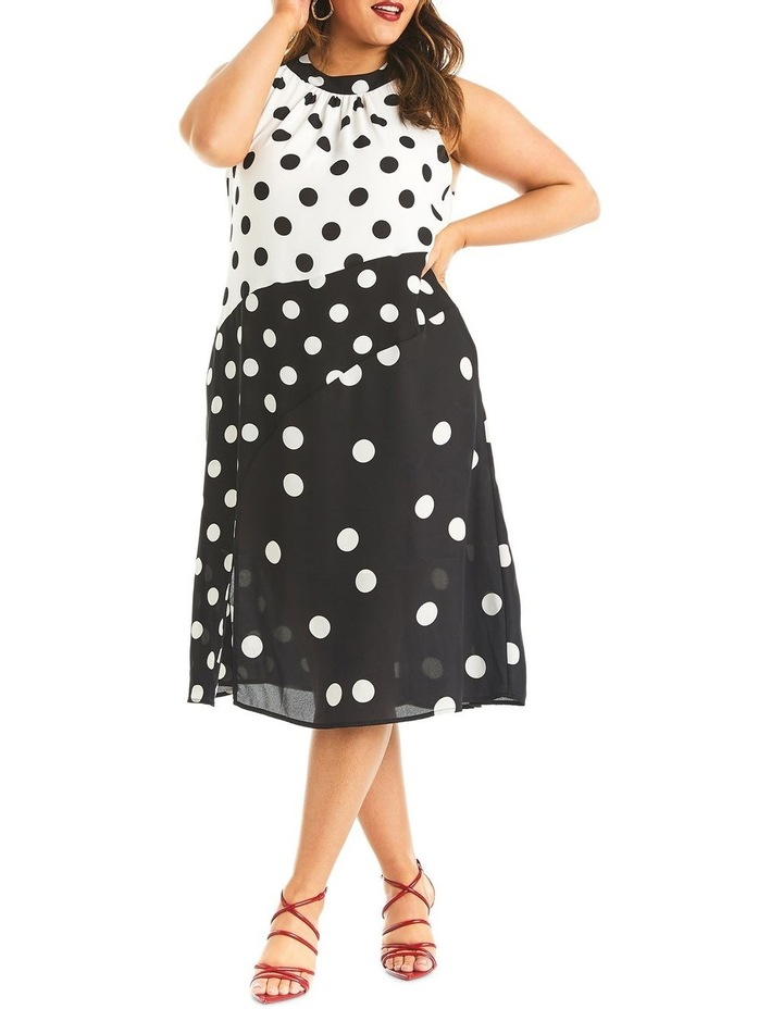 Splice Spot Dress image 1