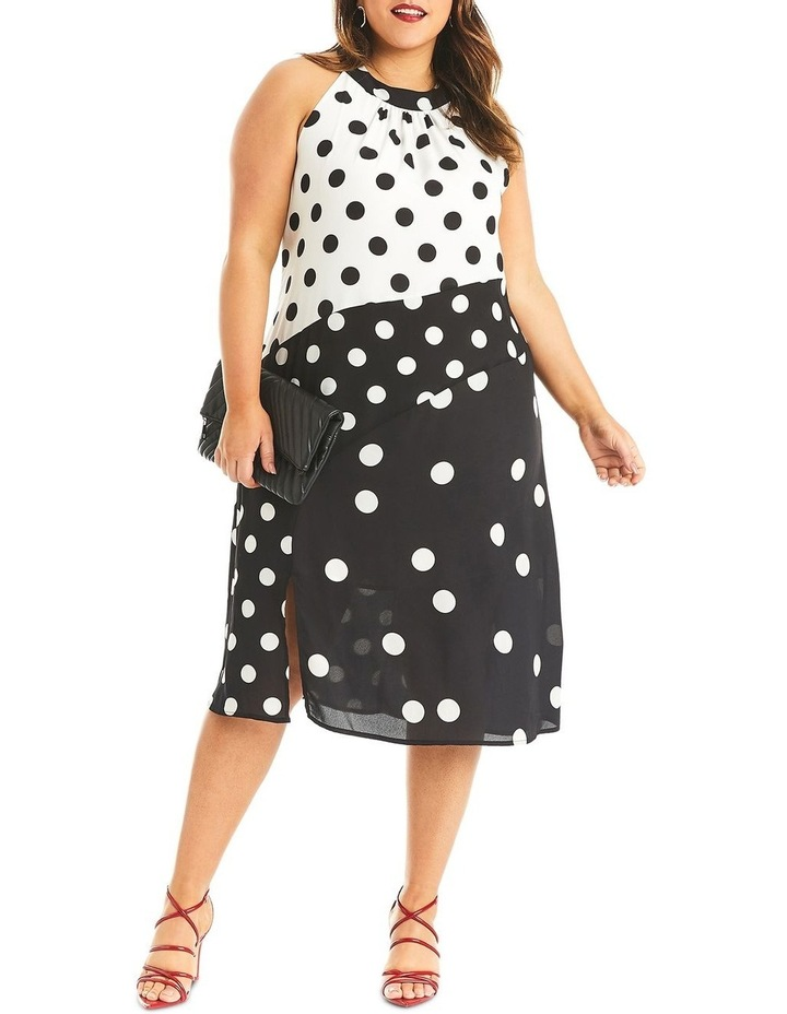 Splice Spot Dress image 5