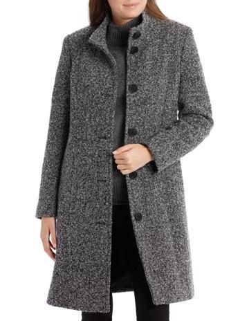 179a4cc0a59 Regatta PetitesStand Collar Textured Coat-Grey Texture. Regatta Petites  Stand Collar Textured Coat-Grey Texture. price