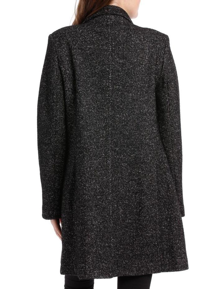 Snap Neck Coat With Seams image 5