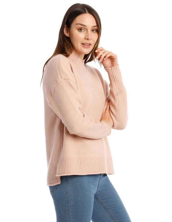 Stand Collar Soft Long Sleeve Jumper image 2