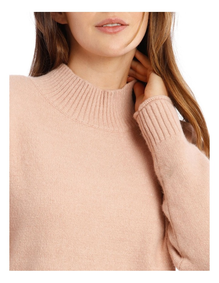 Stand Collar Soft Long Sleeve Jumper image 4