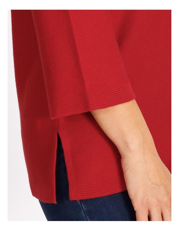 V-Neck Tunic Long Sleeve Jumper image 4