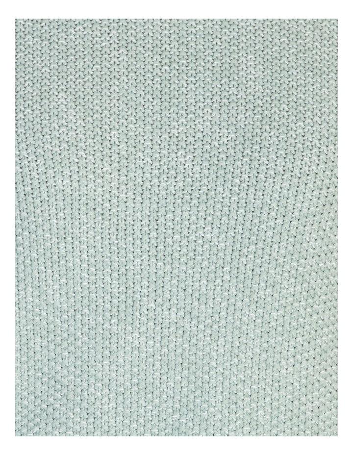Lake's Edge Fancy Knit Front Curved Hem Long Sleeve Jumper image 5