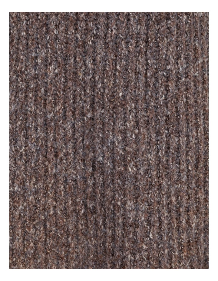 Pillar & Pine Raglan Sleeve Stand Neck Jumper With Cuffs image 5