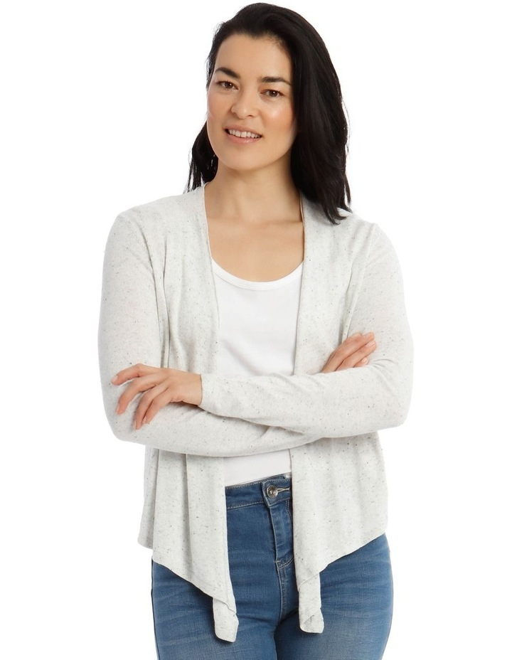 Long Sleeve Waterfall Cardigan image 1
