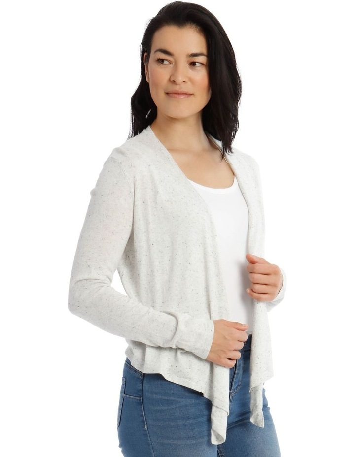Long Sleeve Waterfall Cardigan image 2