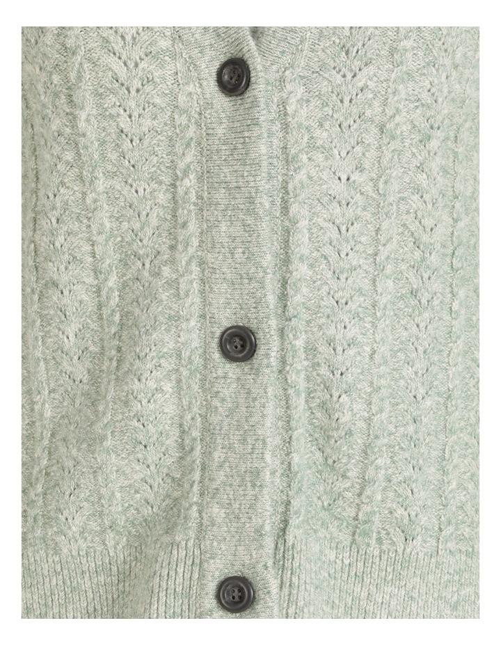 Pillar & Pine 3 Button Cardigan With Hi-Lo Hem image 7