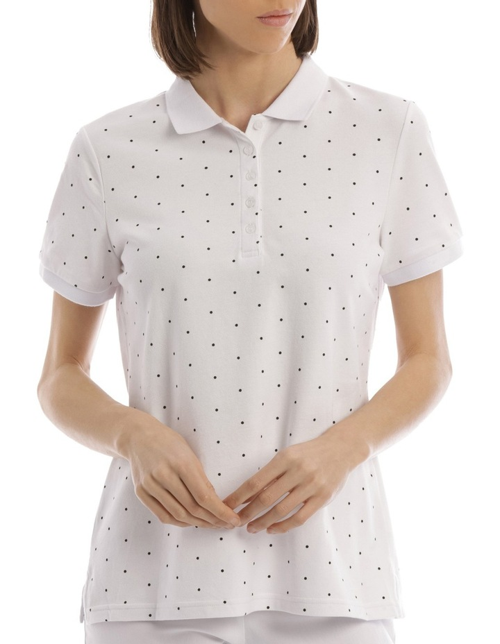 Must Have Polo White/Black Spot image 1