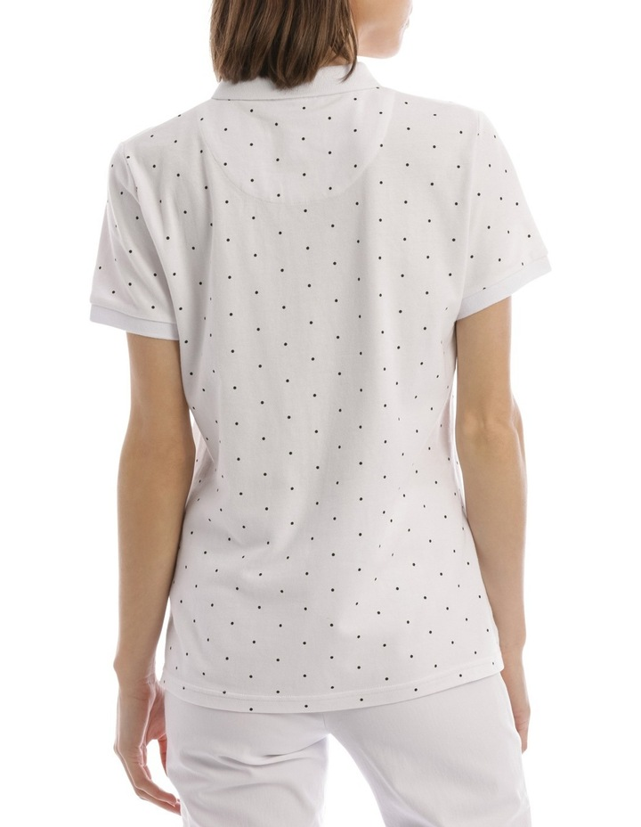 Must Have Polo White/Black Spot image 3