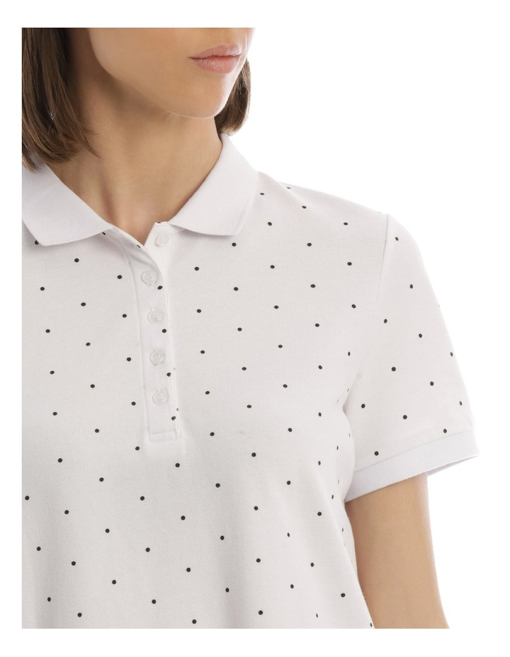 Must Have Polo White/Black Spot image 4
