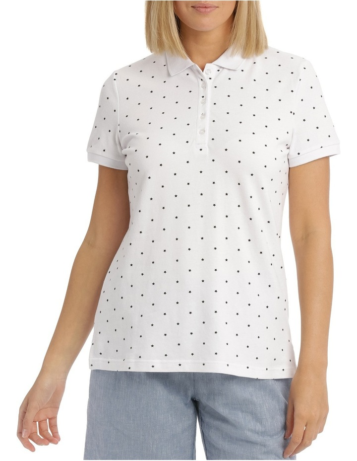 Must Have Polo White/Black Star image 1