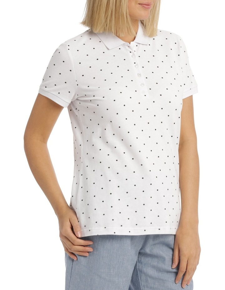 Must Have Polo White/Black Star image 2