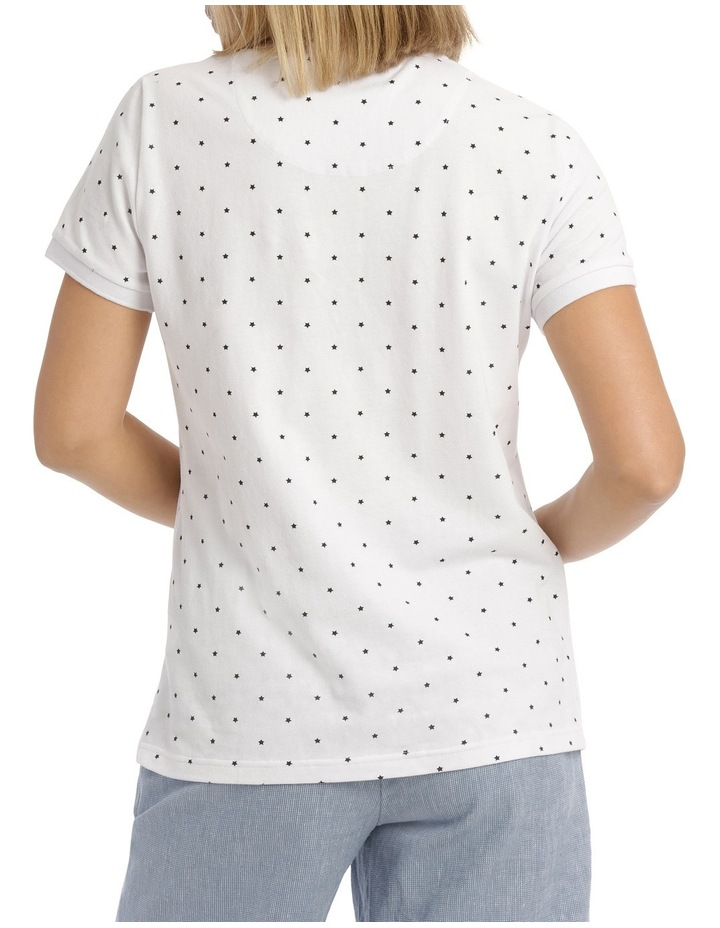 Must Have Polo White/Black Star image 3
