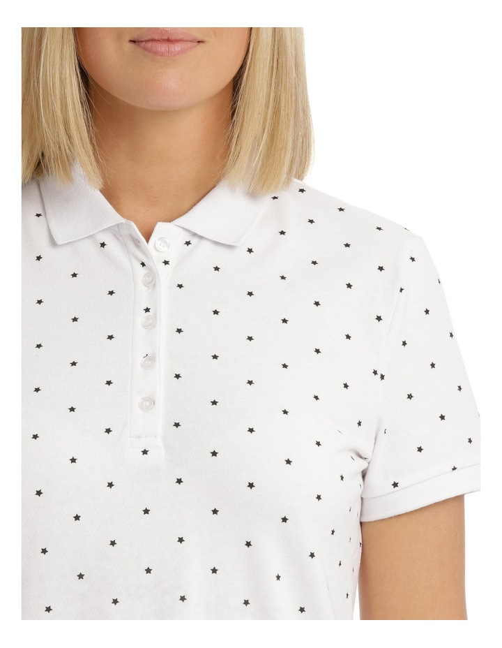 Must Have Polo White/Black Star image 4