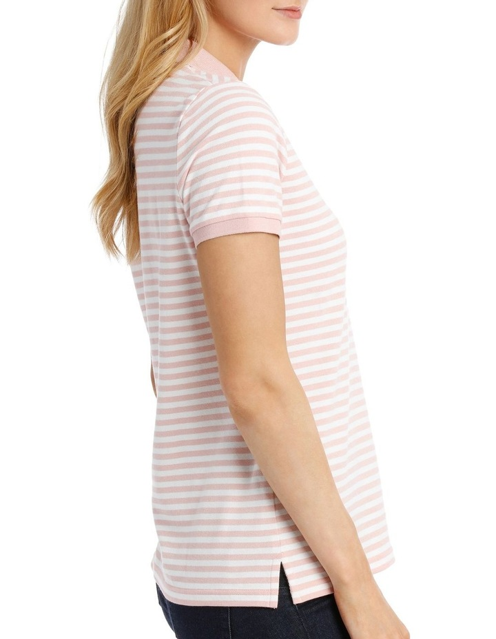 Must Have Polo Pink/White Stripe image 2
