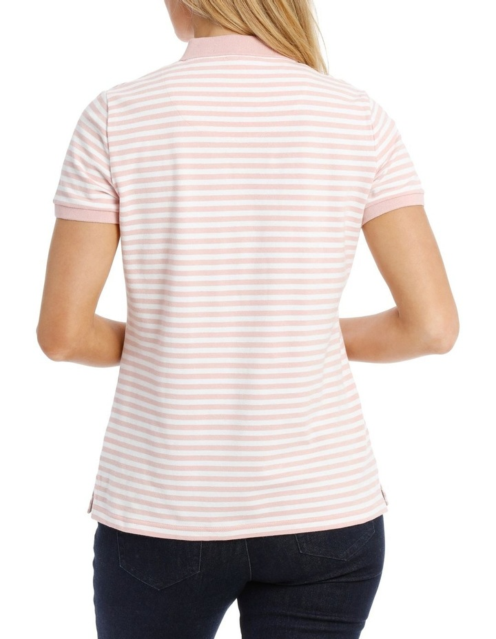 Must Have Polo Pink/White Stripe image 3