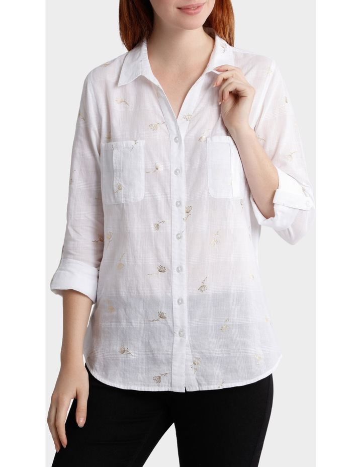 Dandelion Rolled Up Sleeve Shirt image 1