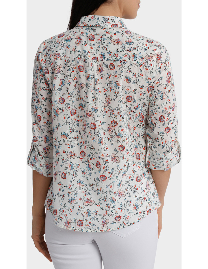 Must Have Printed Cotton 3/4 Sleeveless Shirt image 3