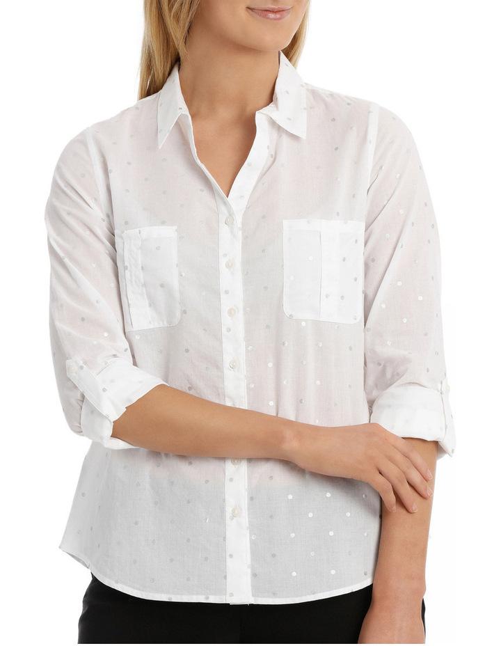 Must Have Foil Cotton Shirt image 1