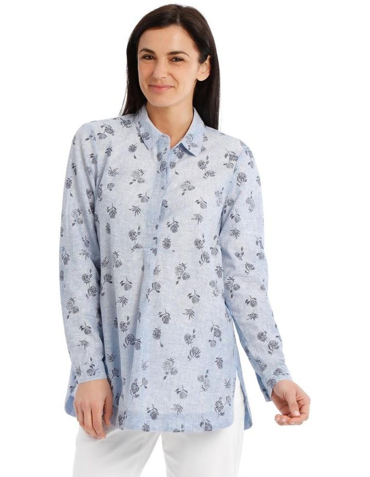 Long Sleeve Shirt With 1/2 Placket image 1