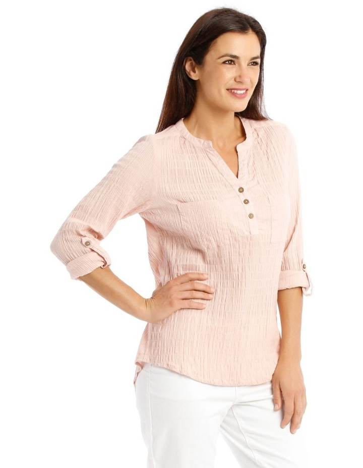 Soft Long Sleeve Shirt With Rolled Sleeve image 2