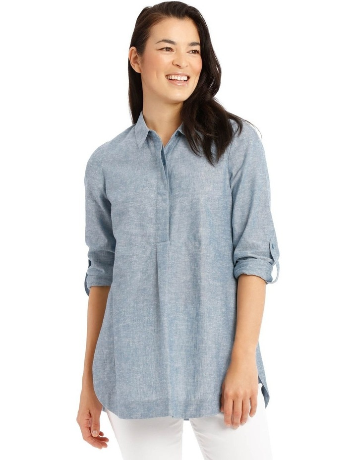 Long Sleeve Shirt With 1/2 Placket by Regatta Petites