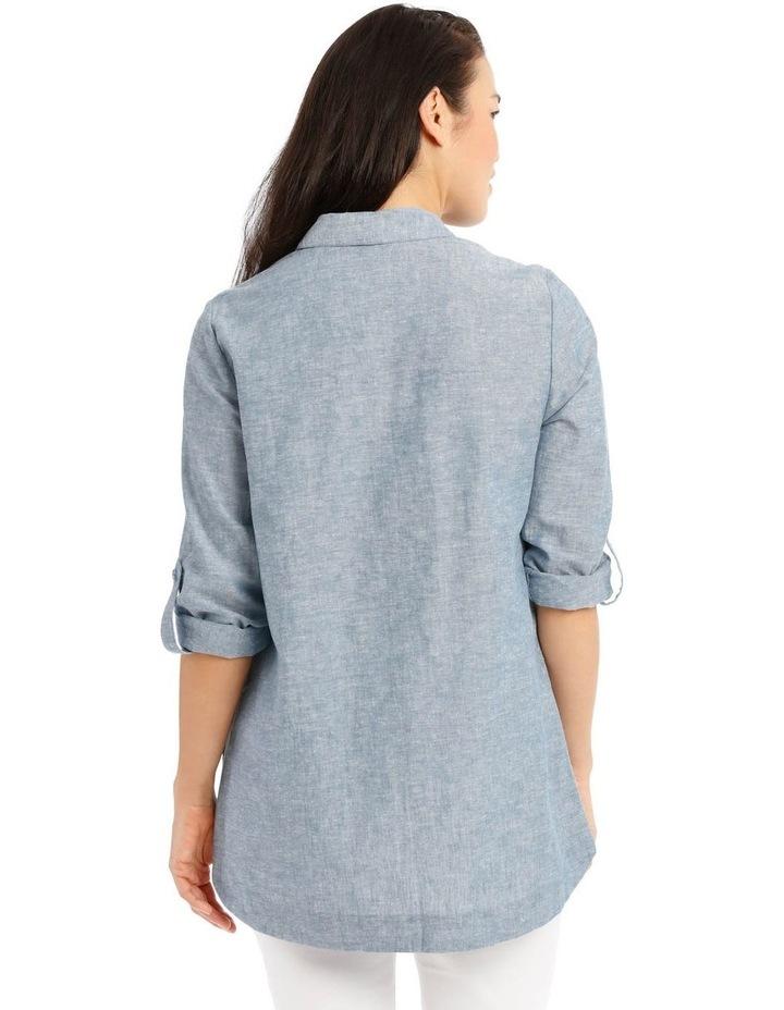 Long Sleeve Shirt With 1/2 Placket image 3