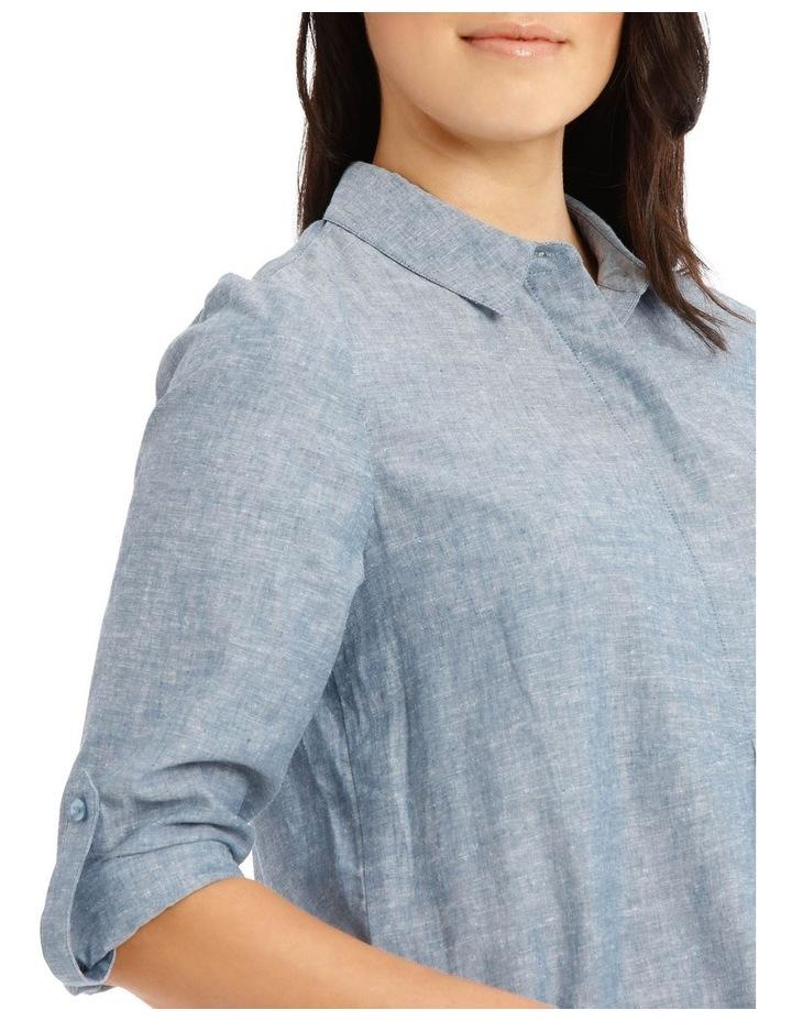 Long Sleeve Shirt With 1/2 Placket image 4