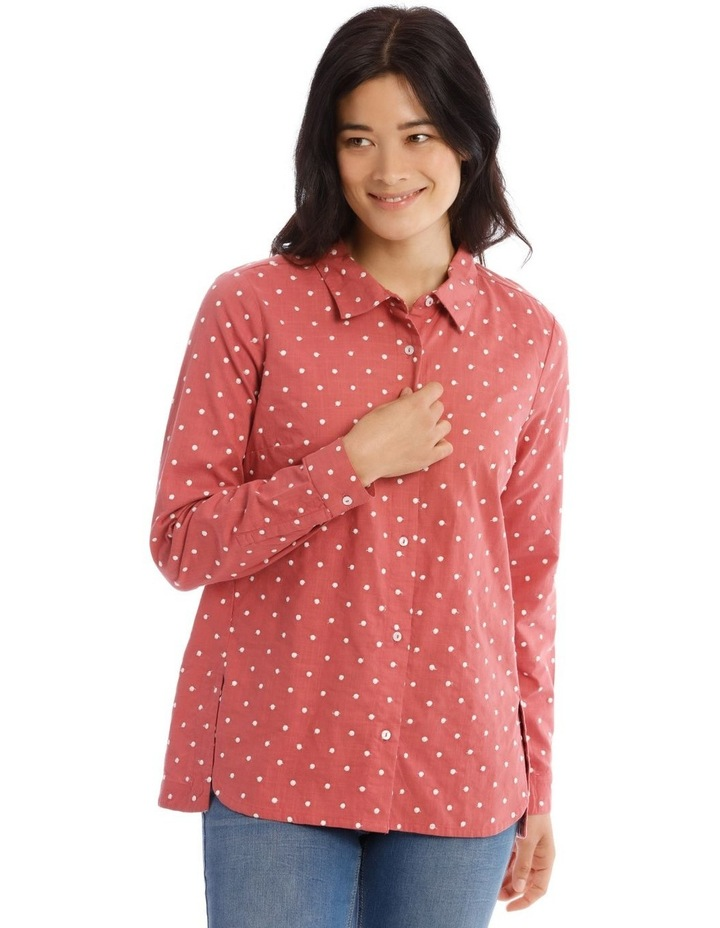 Embroidered Long Sleeve Shirt image 1