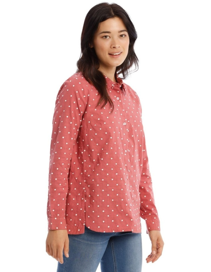 Embroidered Long Sleeve Shirt image 2