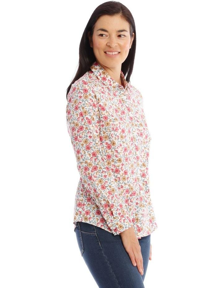 Stretch Cotton Long Sleeve Shirt image 2