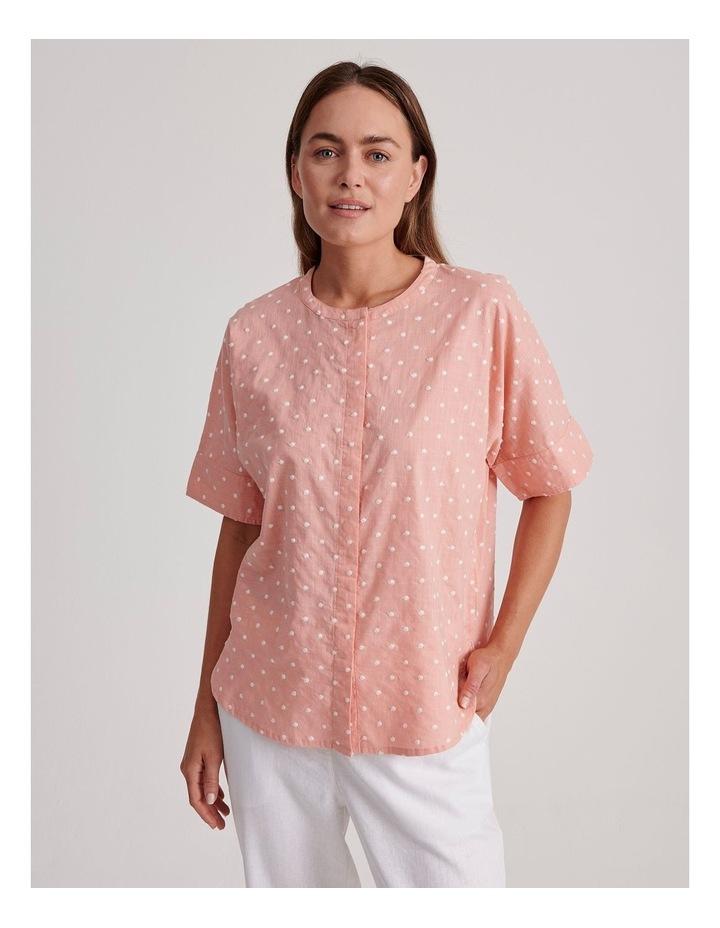 Magyar Short Sleeve Shirt With Cuff image 1