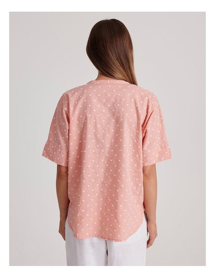 Magyar Short Sleeve Shirt With Cuff image 4