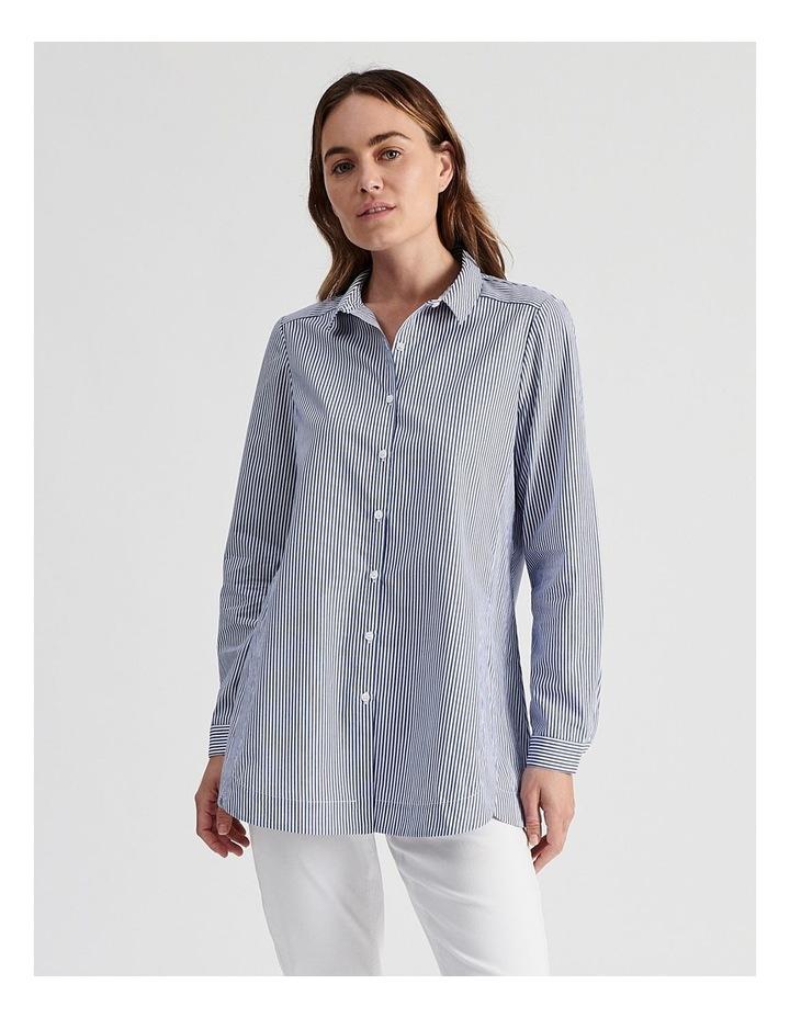 Long Sleeve Aline Stripe Shirt image 1