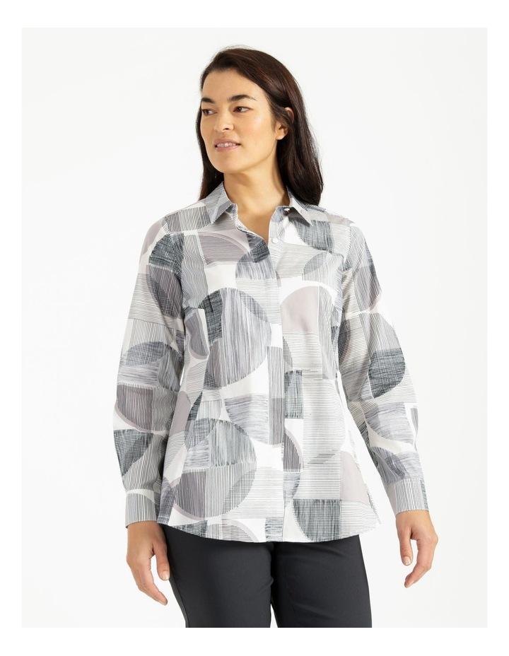 Long Sleeve Shirt With Pocket Grey image 1