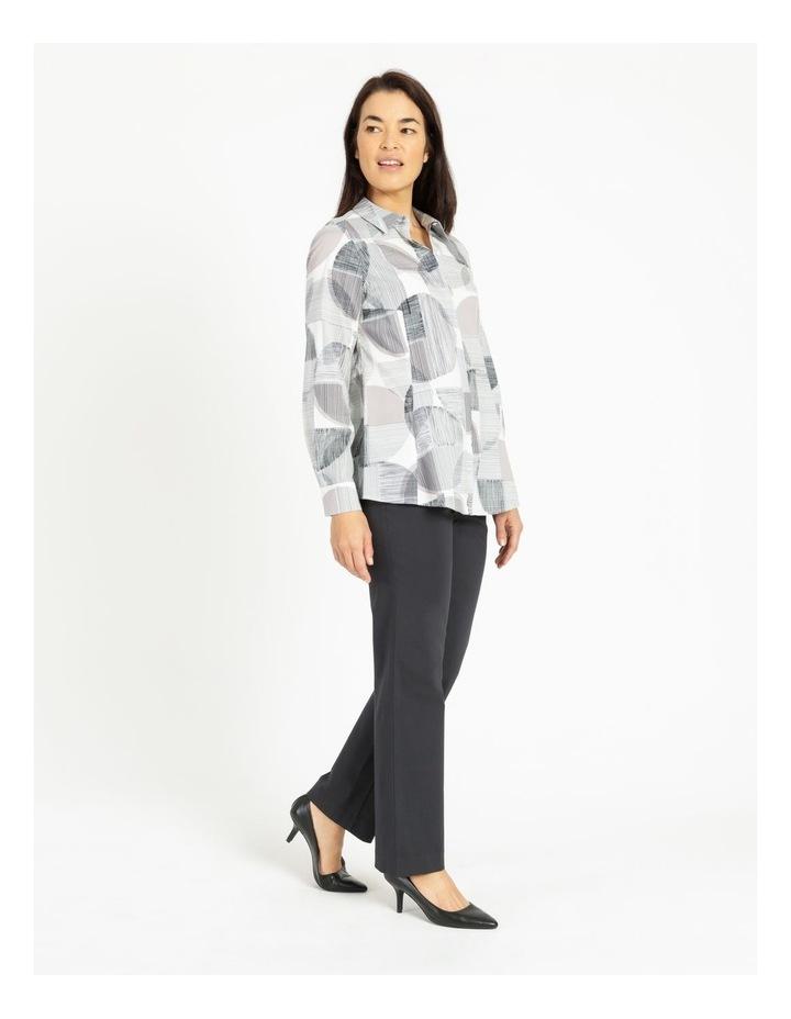 Long Sleeve Shirt With Pocket Grey image 2