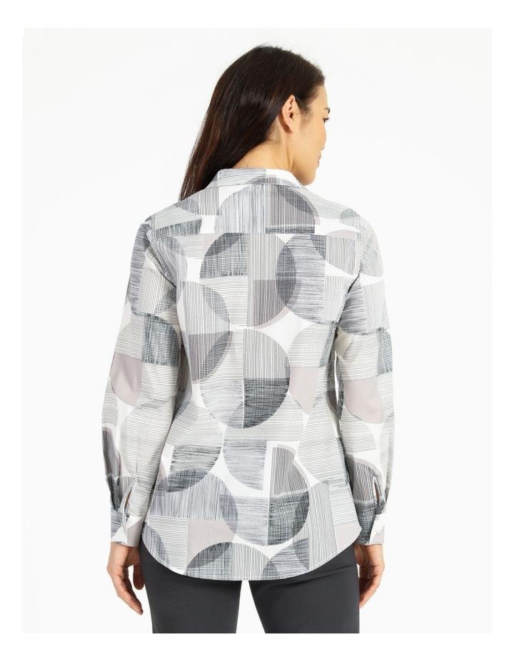Long Sleeve Shirt With Pocket Grey image 3