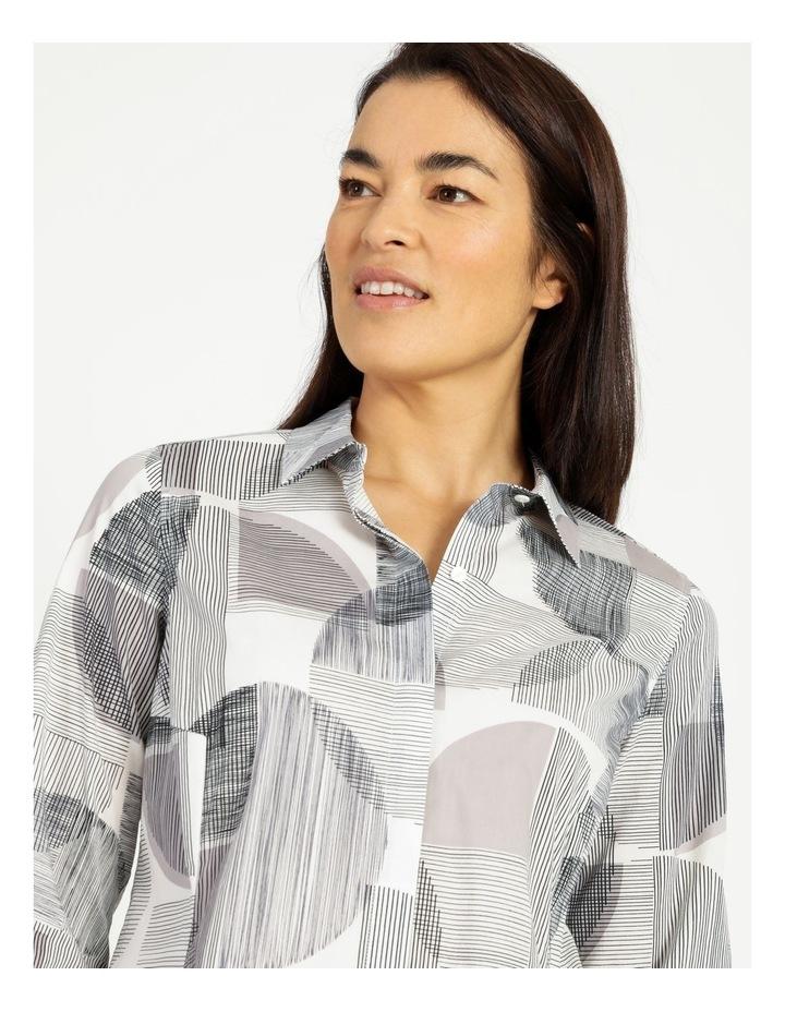 Long Sleeve Shirt With Pocket Grey image 4