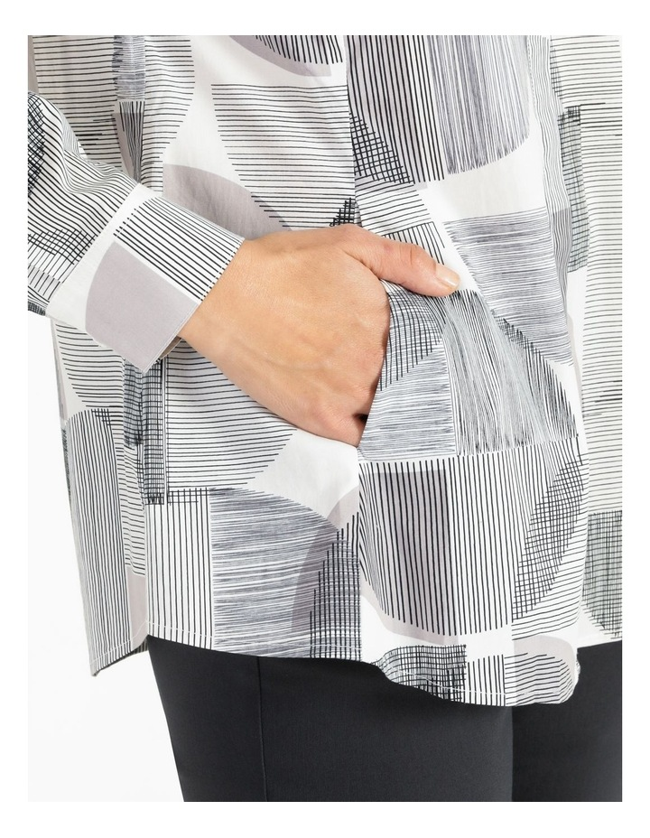 Long Sleeve Shirt With Pocket Grey image 5