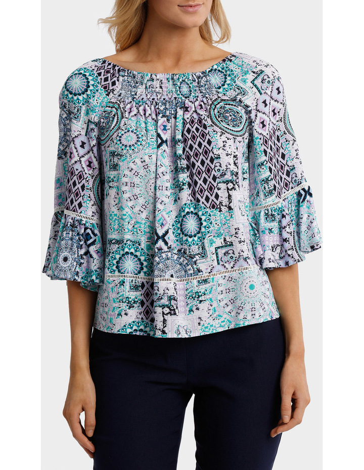 Aegean Outline Oversized Top image 1