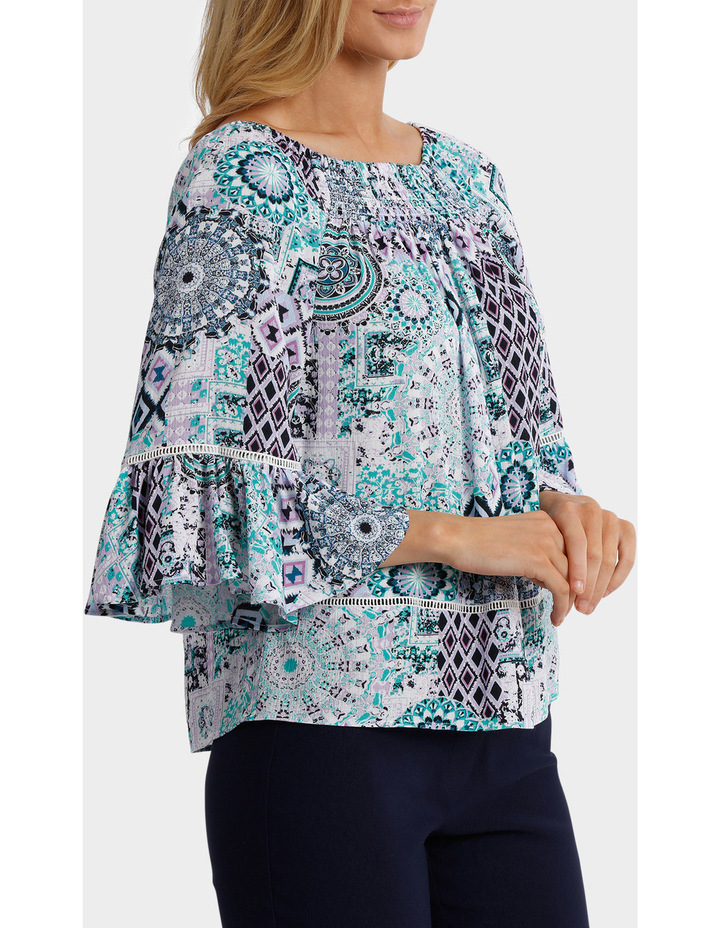 Aegean Outline Oversized Top image 3