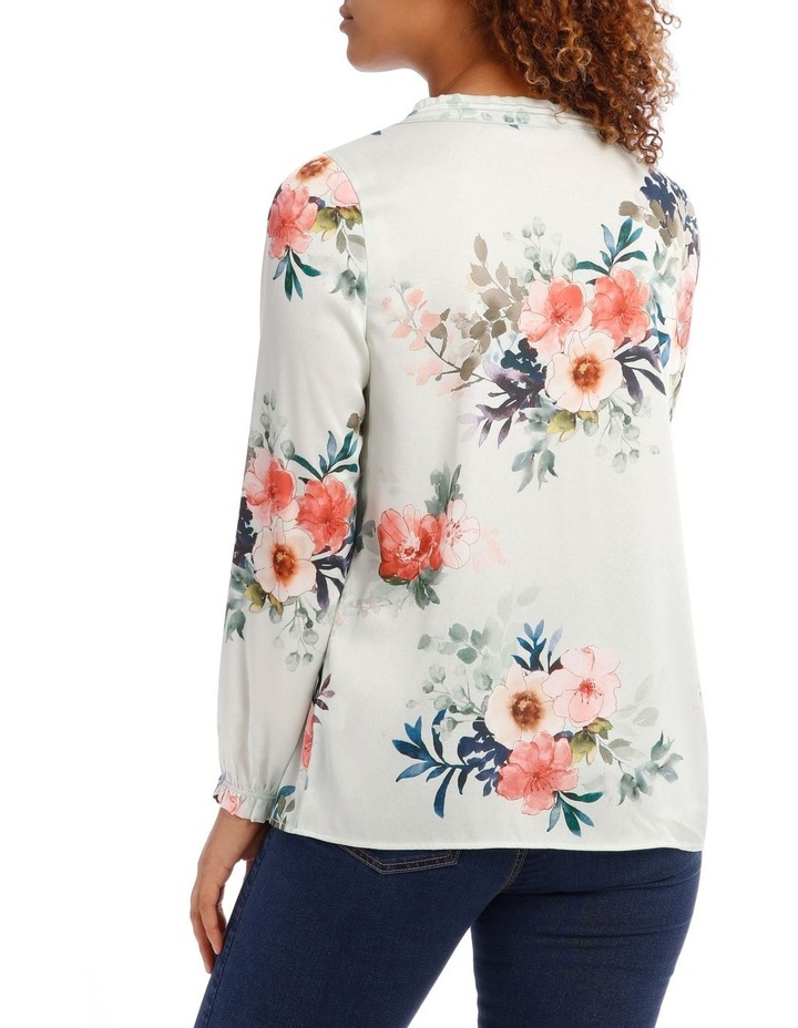 Frill Neck Long Sleeve Top image 3