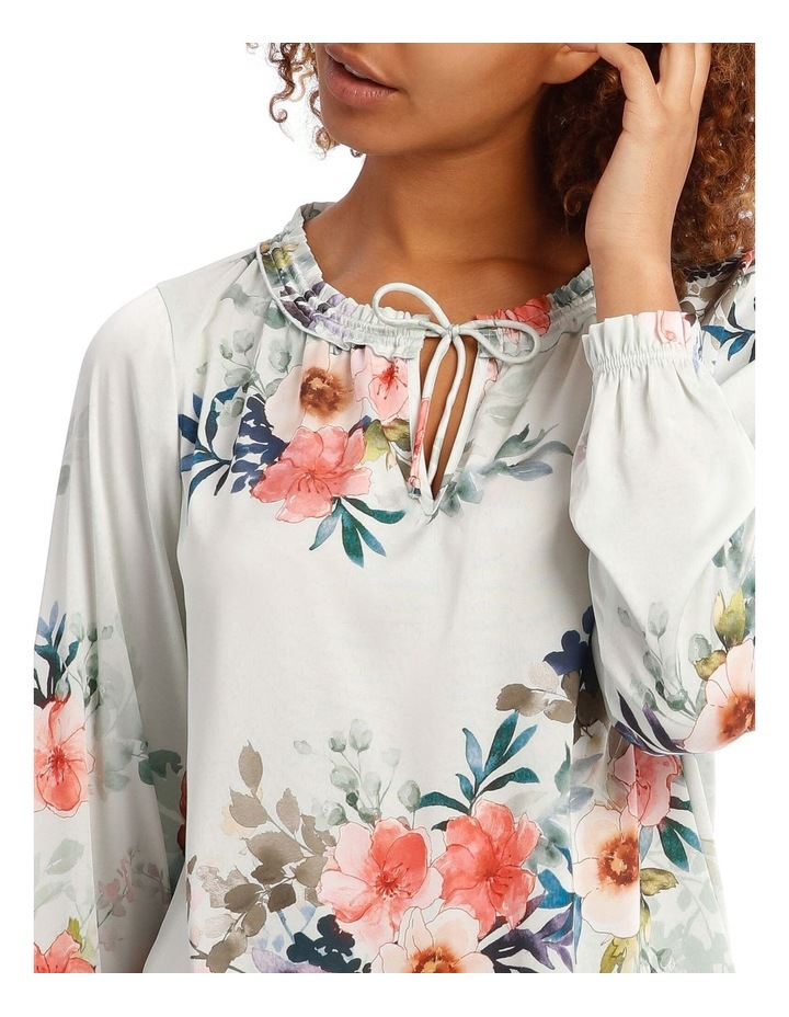 Frill Neck Long Sleeve Top image 4