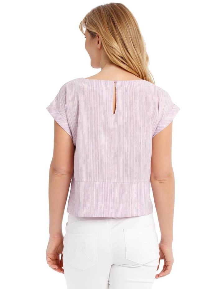 Extended Sleeve Top With Tie Front image 3