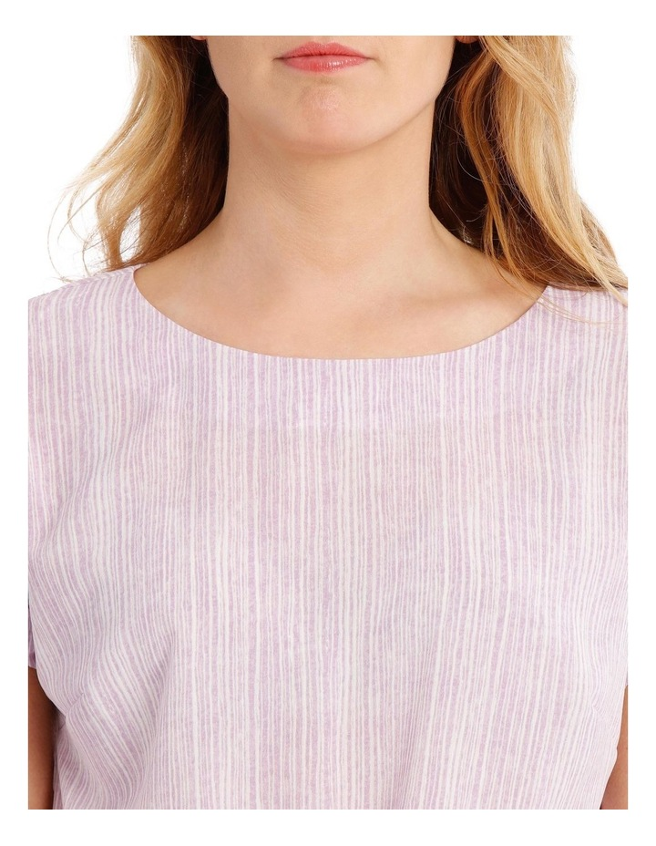 Extended Sleeve Top With Tie Front image 4