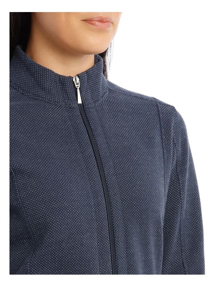 Zip Thru Stand Collar Sweat image 4