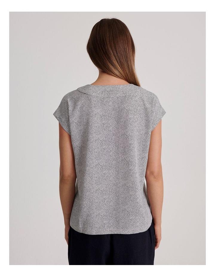 V-Neck Short Sleeve Top image 4
