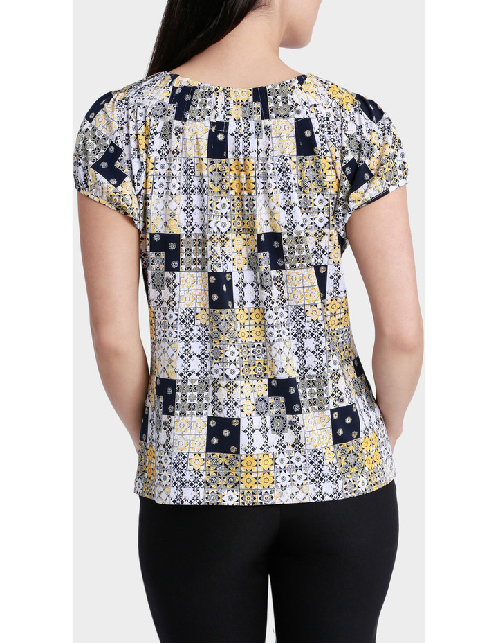 Patchwork Tile Grace Short Sleeve Tee image 3